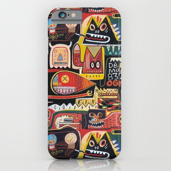 Mutant pop corn iPhone & iPod Case
