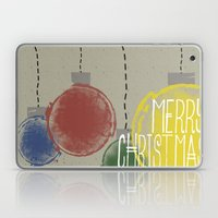 Merry Christmas Ornament… Laptop & iPad Skin