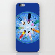 Plea for Peace iPhone & iPod Skin