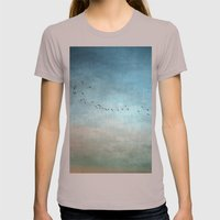 Toward The Sunset Womens Fitted Tee Cinder SMALL