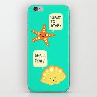 Motivational Beach! iPhone & iPod Skin
