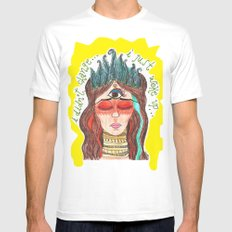 third eye SMALL Mens Fitted Tee White