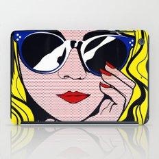Pop Art Glamour Girl iPad Case