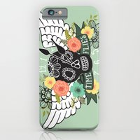 iPhone & iPod Case featuring Time Flies by Sweet Mango