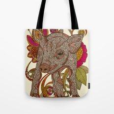 Paisley Piggy Tote Bag