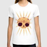 sugar skull T-shirts featuring sugar skull by Yetiland