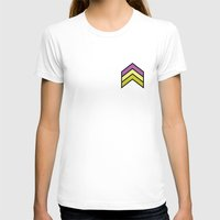 chevron T-shirts featuring Chevron by Nick Ellsworth