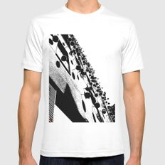 Barna Love B&W White Mens Fitted Tee SMALL