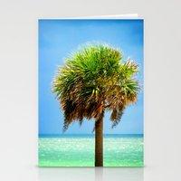 Stately Palm Stationery Cards