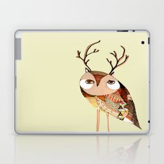 owl print, owl illustration, owl art, owl  Laptop & iPad Skin