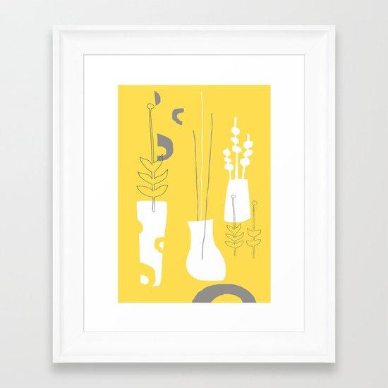 Modplants Framed Art Print