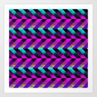 Dark Purple Art Print