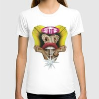 glitter T-shirts featuring Glitter Girl by fabiotir