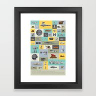 A Long Time Ago - The Co… Framed Art Print