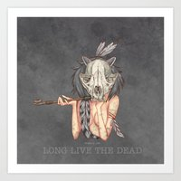 Long Live The Dead - Rac… Art Print