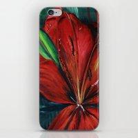 Chaleur d´été iPhone & iPod Skin