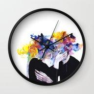 Intimacy On Display Wall Clock