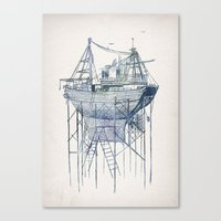 Dry Dock II Canvas Print