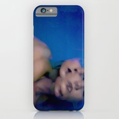 Blue Faces, Many Bodies iPhone 6 Slim Case