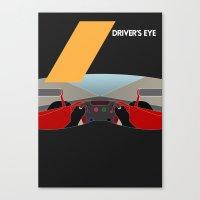 Drive - Driver's Eye Canvas Print
