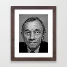 J.K. Framed Art Print