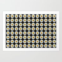 DAISIES DIRECT Art Print