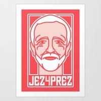 Shout To The Top: Jez4Pr… Art Print