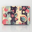 50's floral pattern II iPad Case