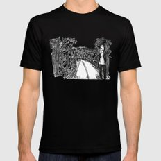 Lucid Mens Fitted Tee Black SMALL
