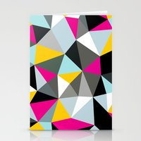 Comic Book Tris Stationery Cards