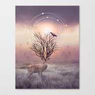 Canvas Print featuring In The Stillness by Soaring Anchor Desig…