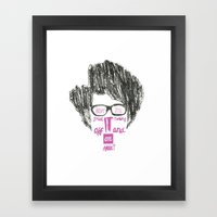 Have You Tried? Framed Art Print