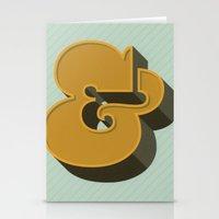 Heavy Ampersand Stationery Cards