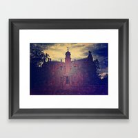 Haunted Mansion Framed Art Print