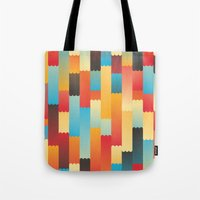 Follow The Lines Tote Bag