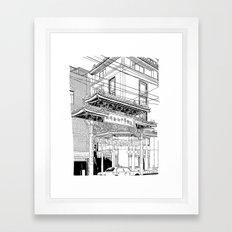 Nagasaki - China Town Framed Art Print