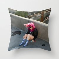 Nina. Throw Pillow