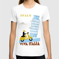 italy T-shirts featuring Italy by Laurel Natale