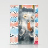Rawr Or Meow?  Stationery Cards