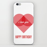 Birthday Wishes for My Dearest Friend iPhone & iPod Skin