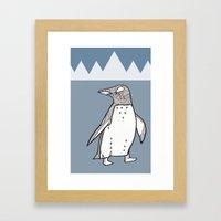 Lil Penguin Framed Art Print