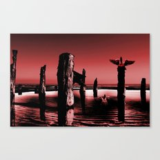 Burgandy Sands Canvas Print