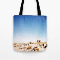 New York Summer at the Beach #1 Tote Bag