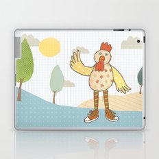 sunny rooster Laptop & iPad Skin