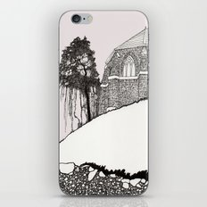 St. Vigeans (black and white) iPhone & iPod Skin