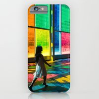 Stepping into a rainbow iPhone 6 Slim Case
