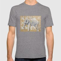 elephant Mens Fitted Tee Tri-Grey SMALL