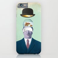 iPhone & iPod Case featuring Under the Bowler by vin zzep