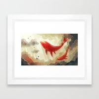 Deep Sky Framed Art Print