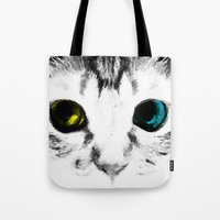 CAT'S EYES Tote Bag